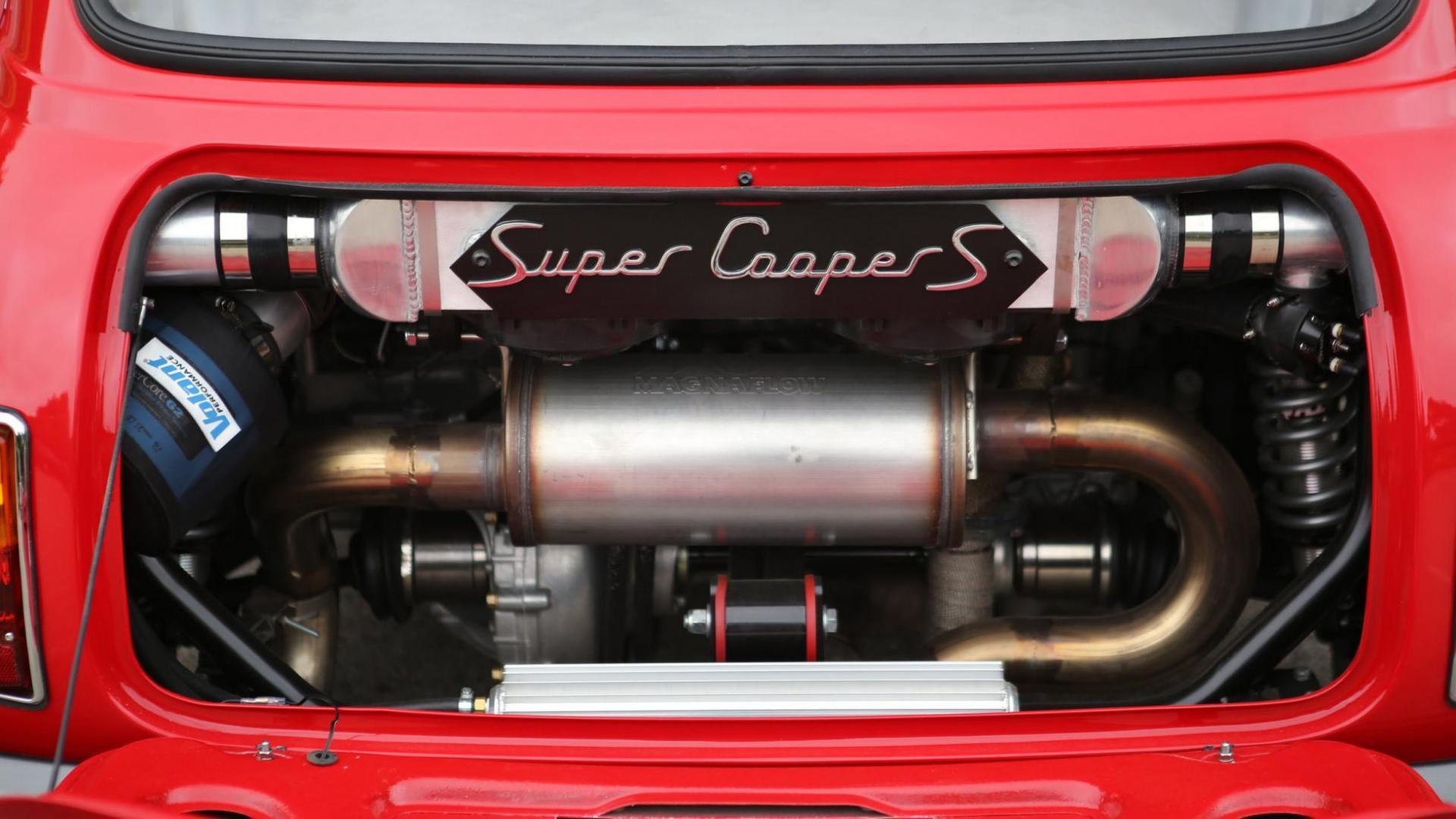 Uitlaat Mini Super Cooper S