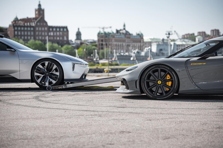 Polestar Precept en Koenigsegg Gemera