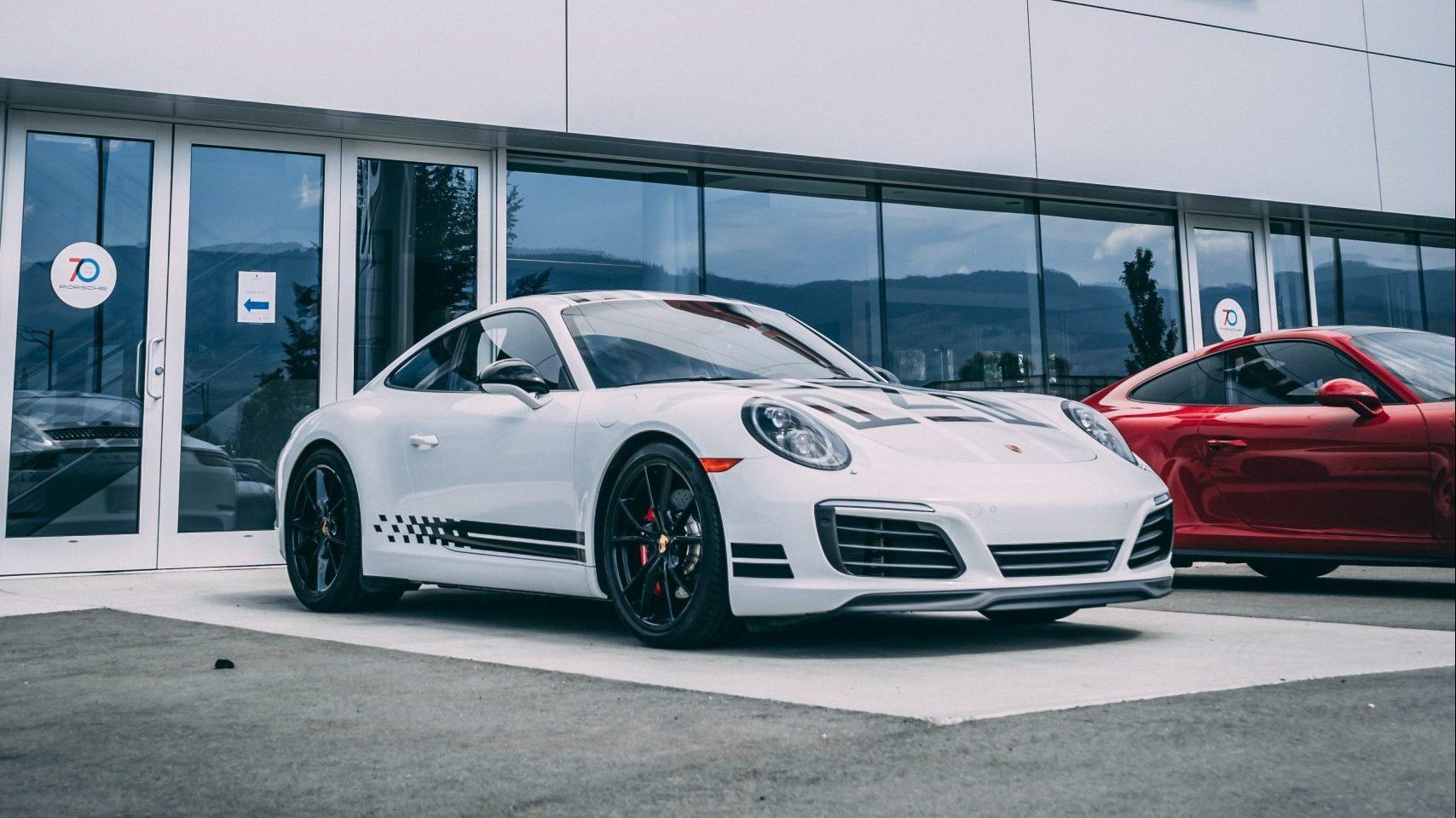 Porsche 911 991 voor dealer