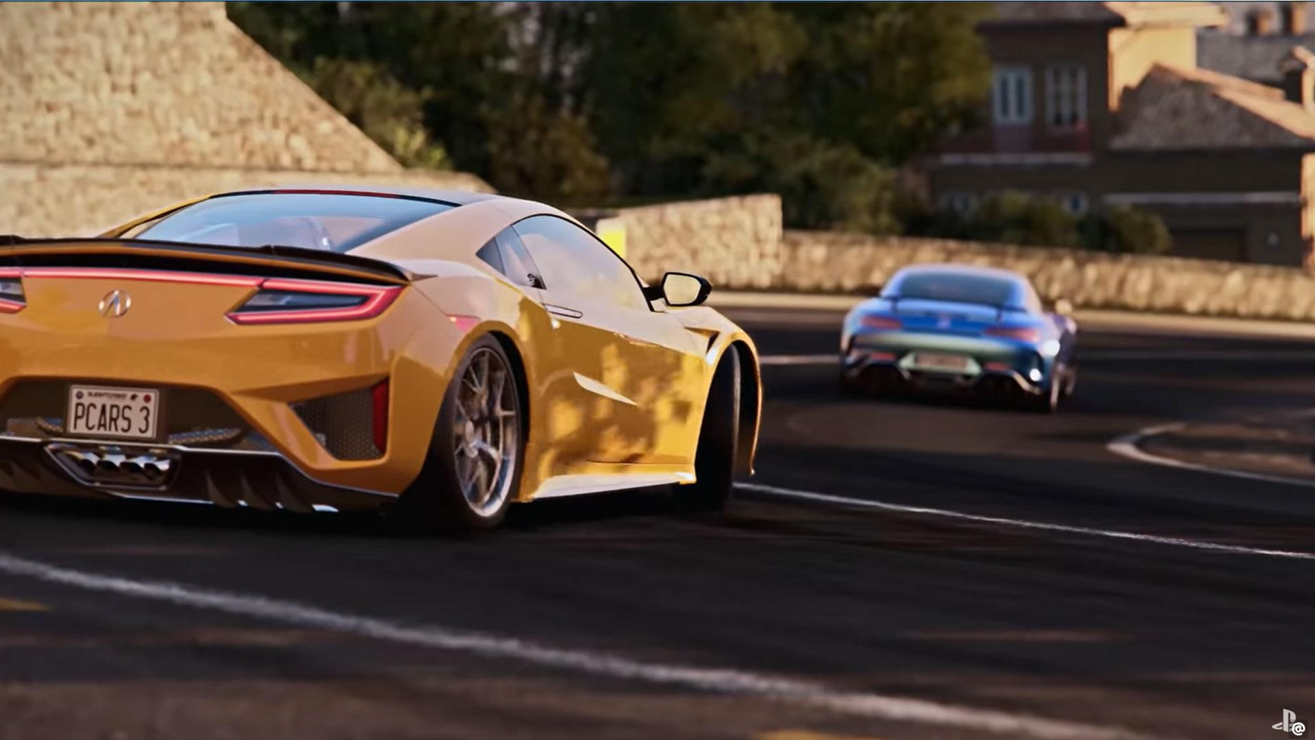 Screenshot trailer Project Cars 3