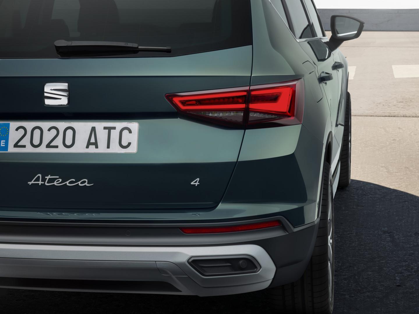 Achterlichten Seat Ateca-facelift 2020