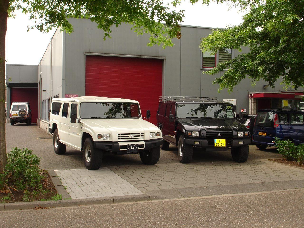 Toyota Mega Cruiser in Nederland