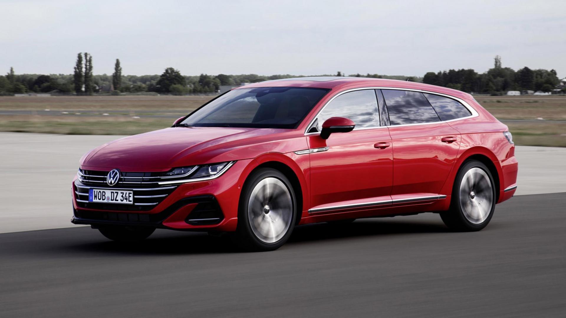 Volkswagen Arteon Shooting Brake 2020 rood
