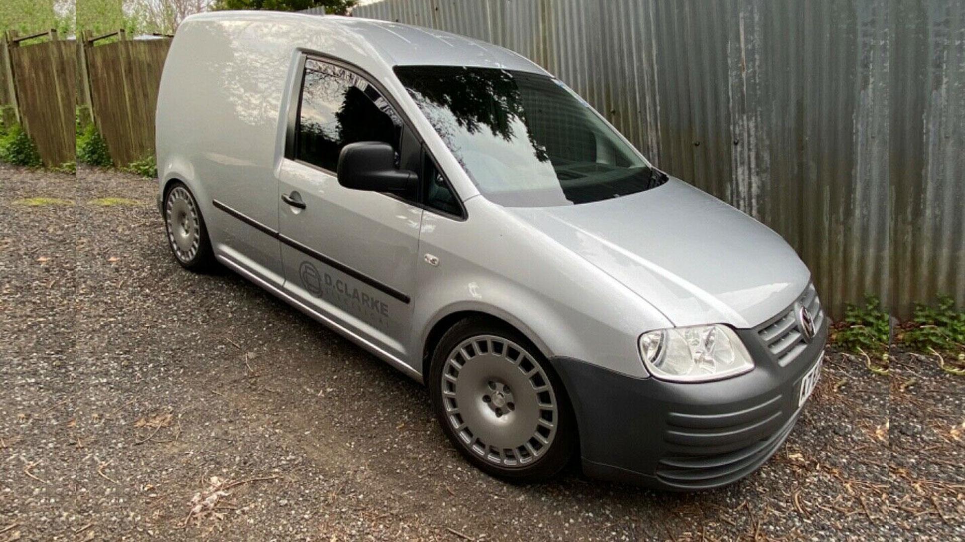 VW Caddy met S3-aandrijflijn