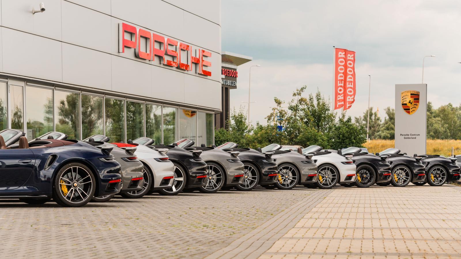 Deze week 14x Porsche 911 Turbo op kenteken
