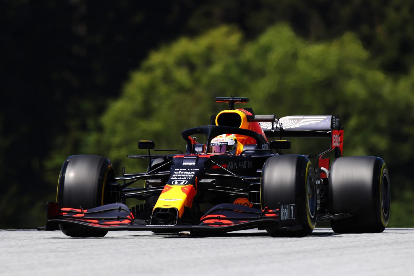 2e vrije training van de tweede GP van Oostenrijk 2020