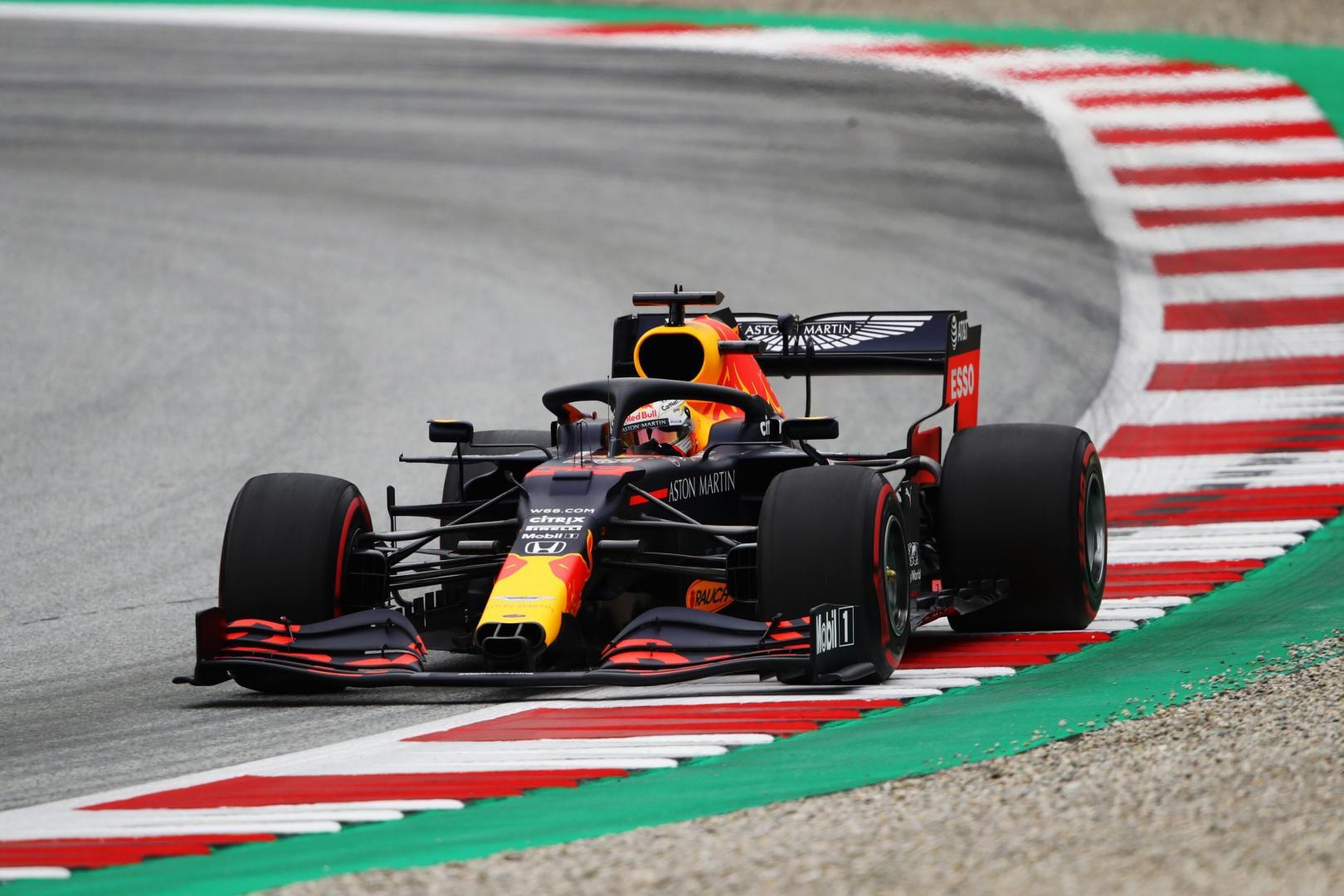 2e vrije training van de GP van Oostenrijk 2020