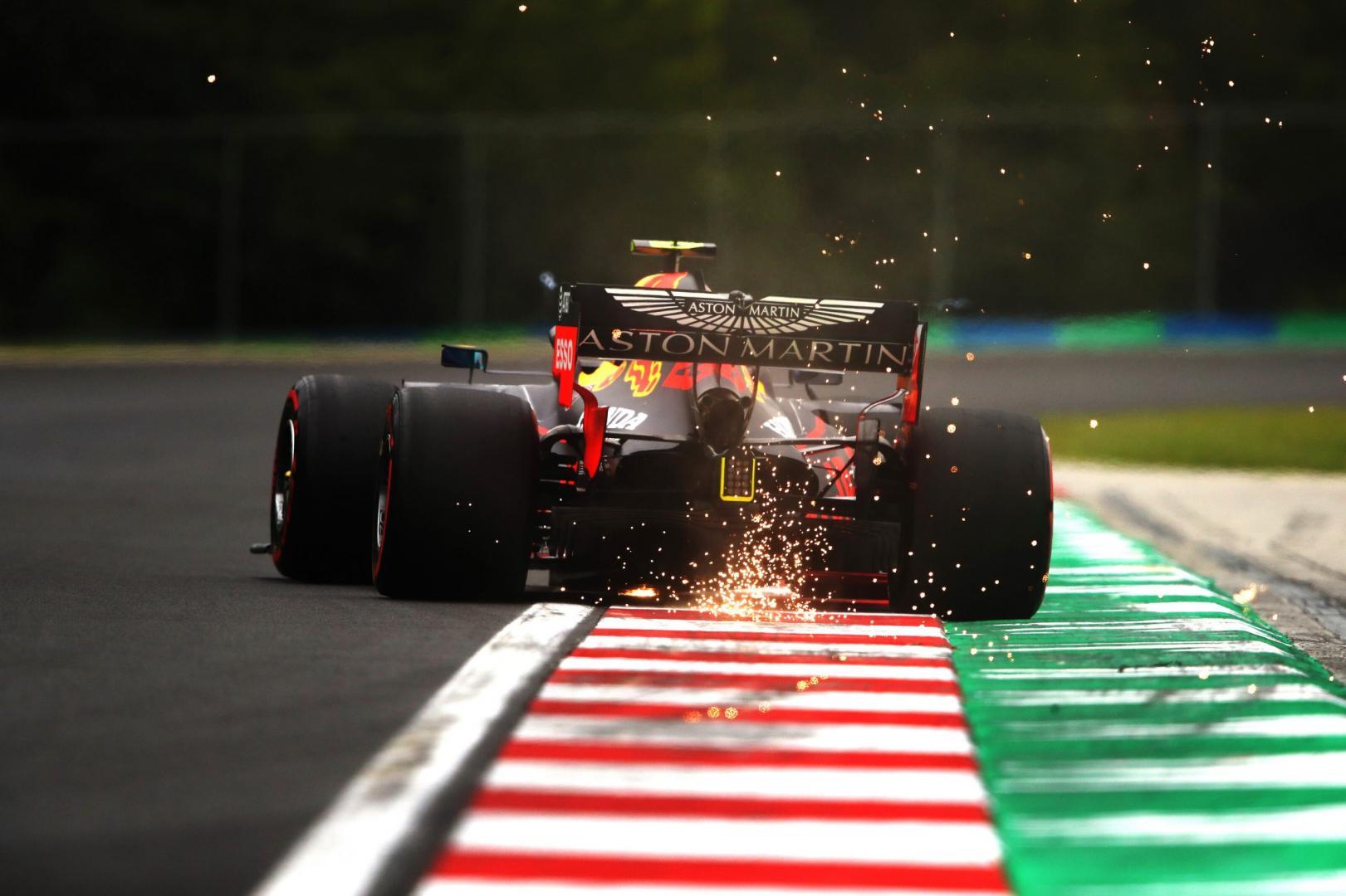 3e vrije training van de GP van Hongarije 2020