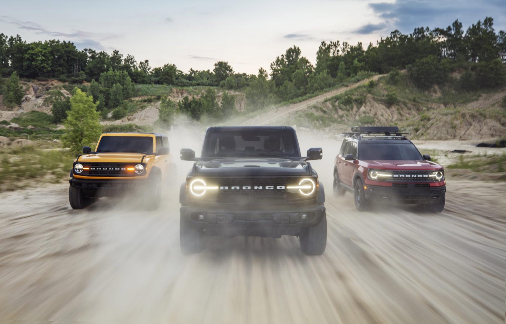 Ford Bronco en Bronco Sport 2021