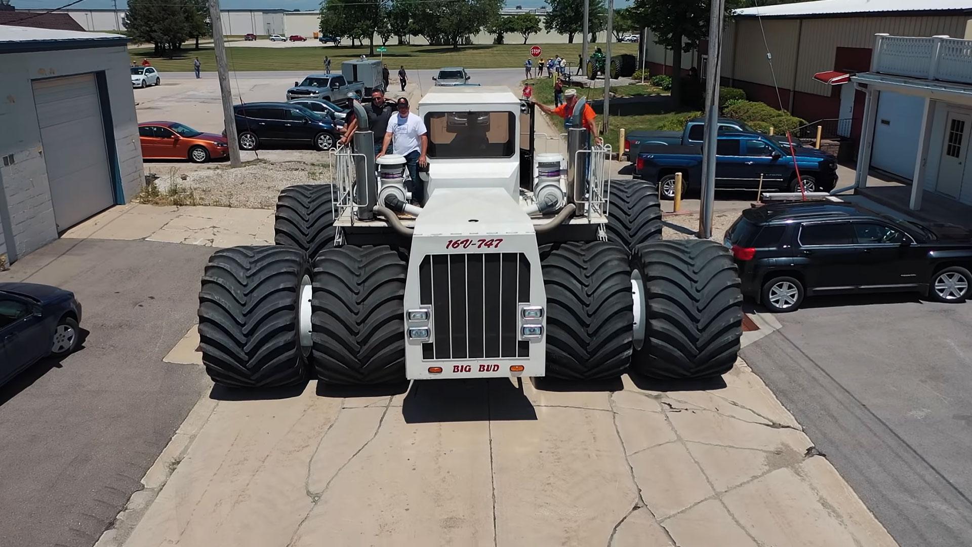 Grootste tractor ter wereld