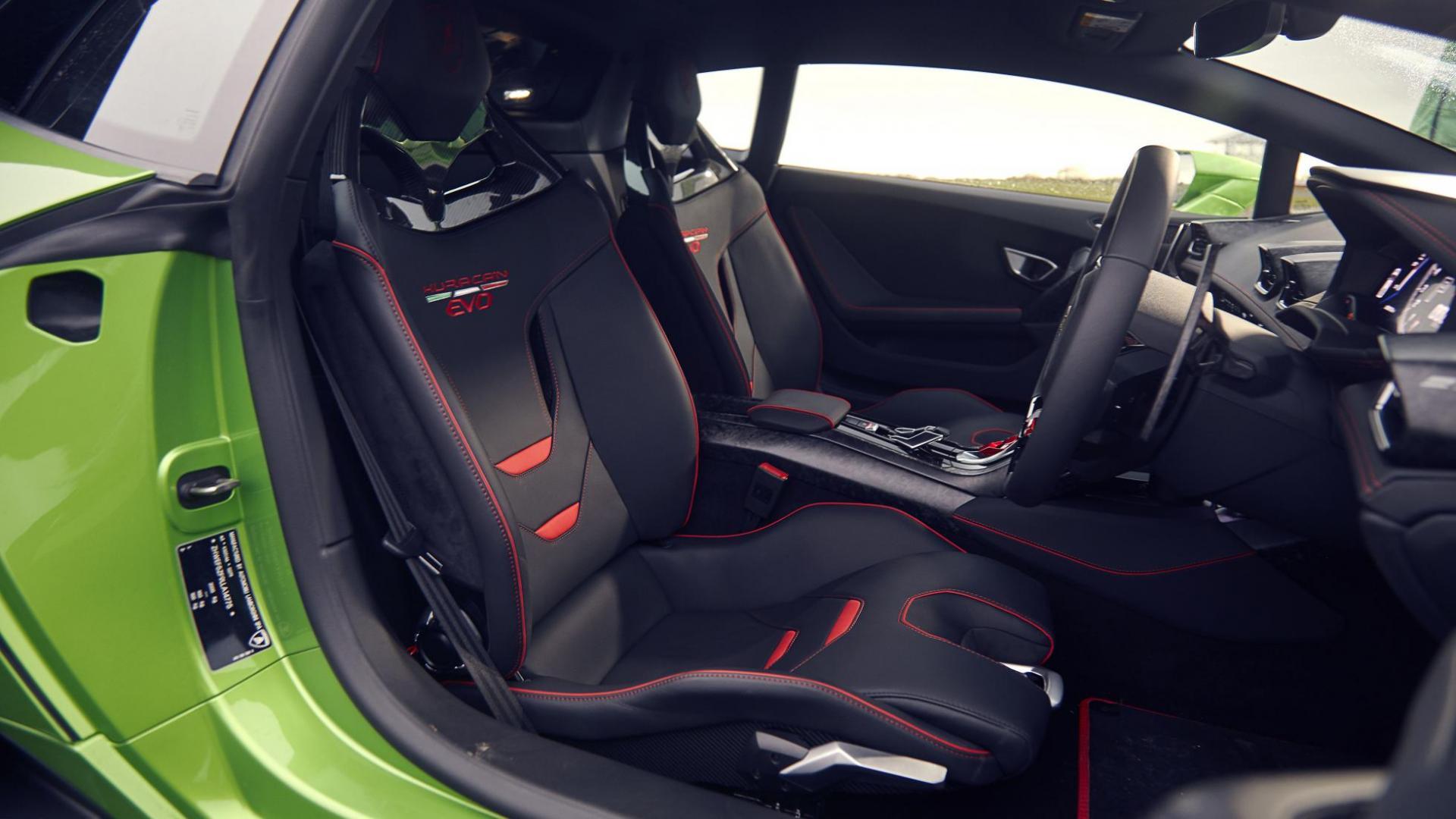 Interieur Lamborghini Huracan Evo RWD 2020