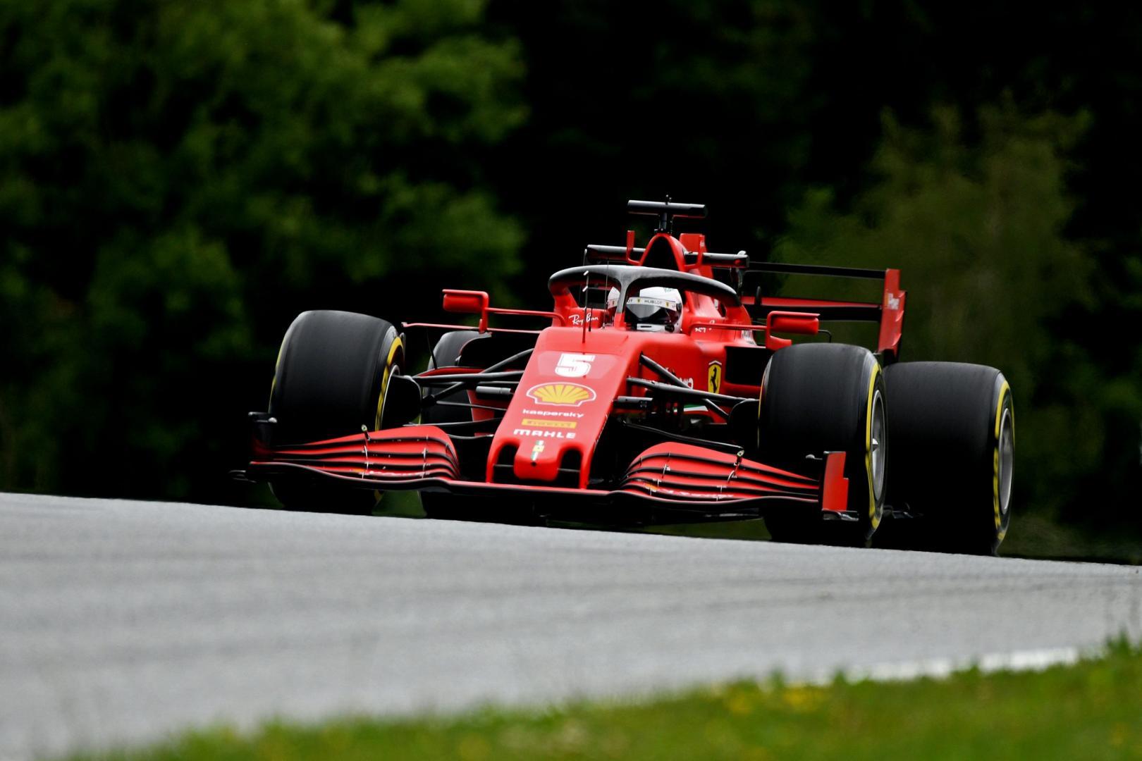 Kwalificatie van de GP van Oostenrijk 2020