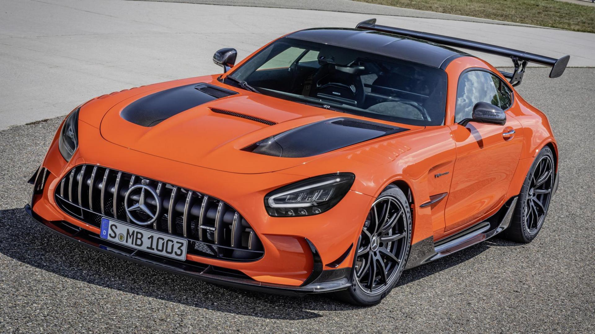Prijs Mercedes-AMG GT Black Series in Magma Orange (2020)