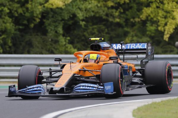 Uitslag van de GP van Hongarije 2020