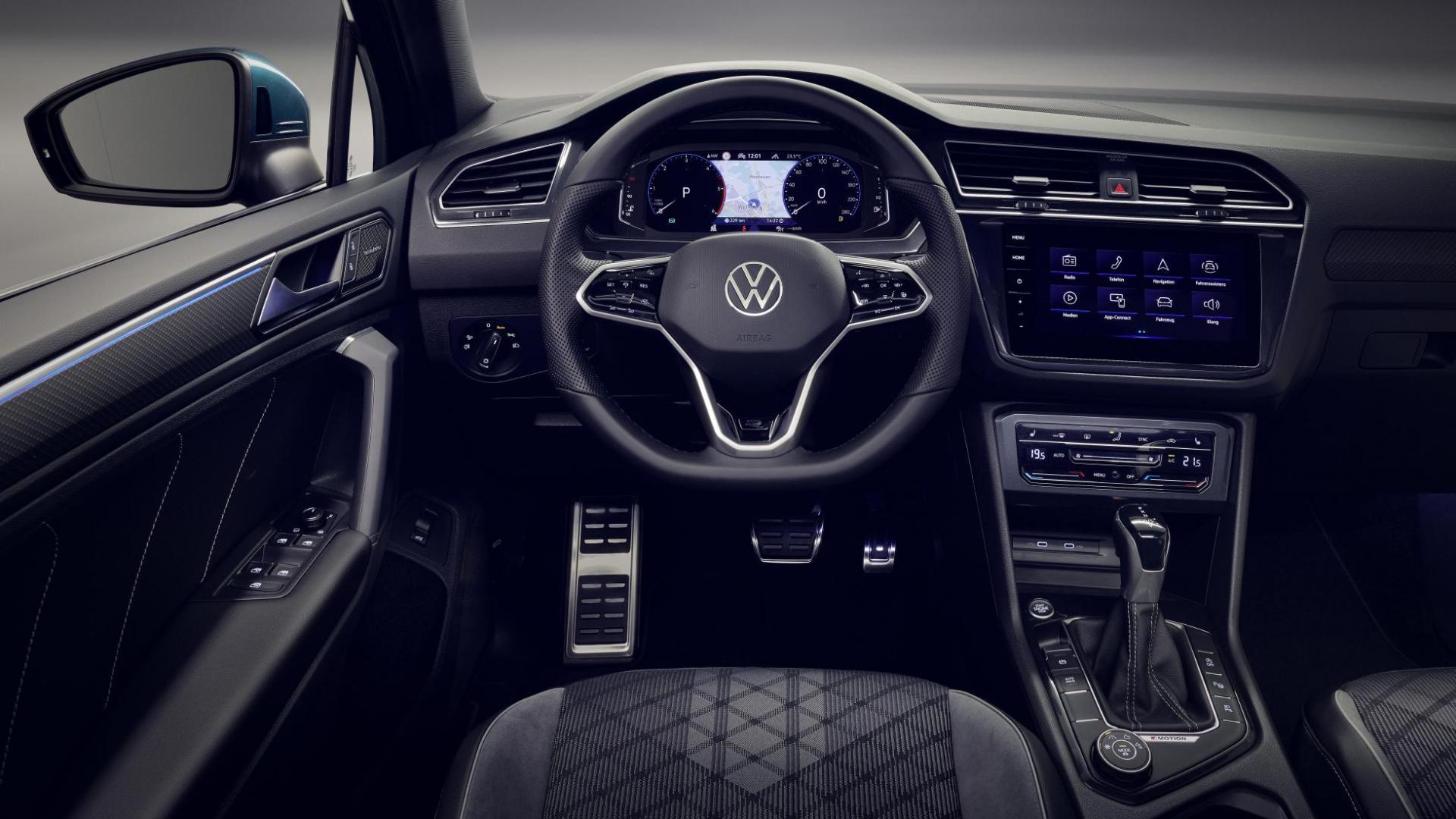 interieur Volkswagen Tiguan-facelift 2020