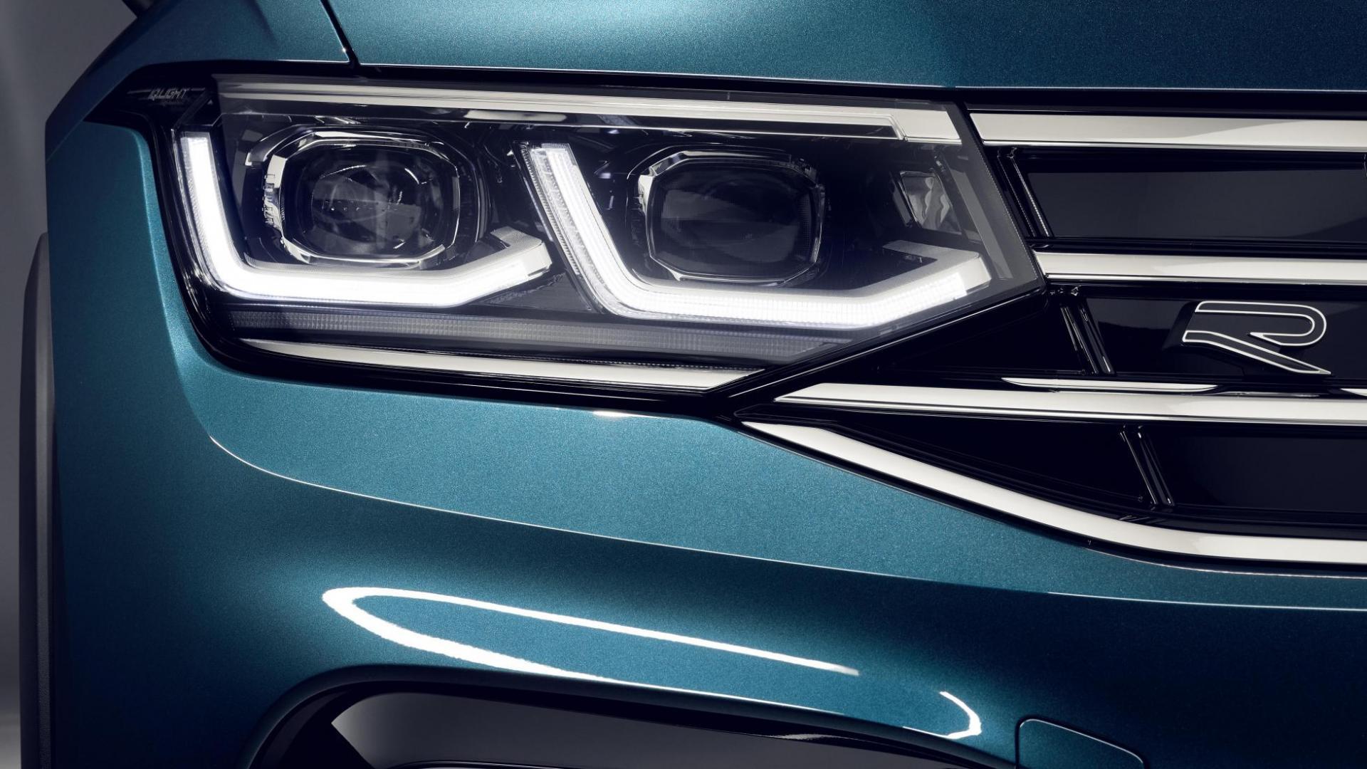 koplampen Volkswagen Tiguan-facelift 2020