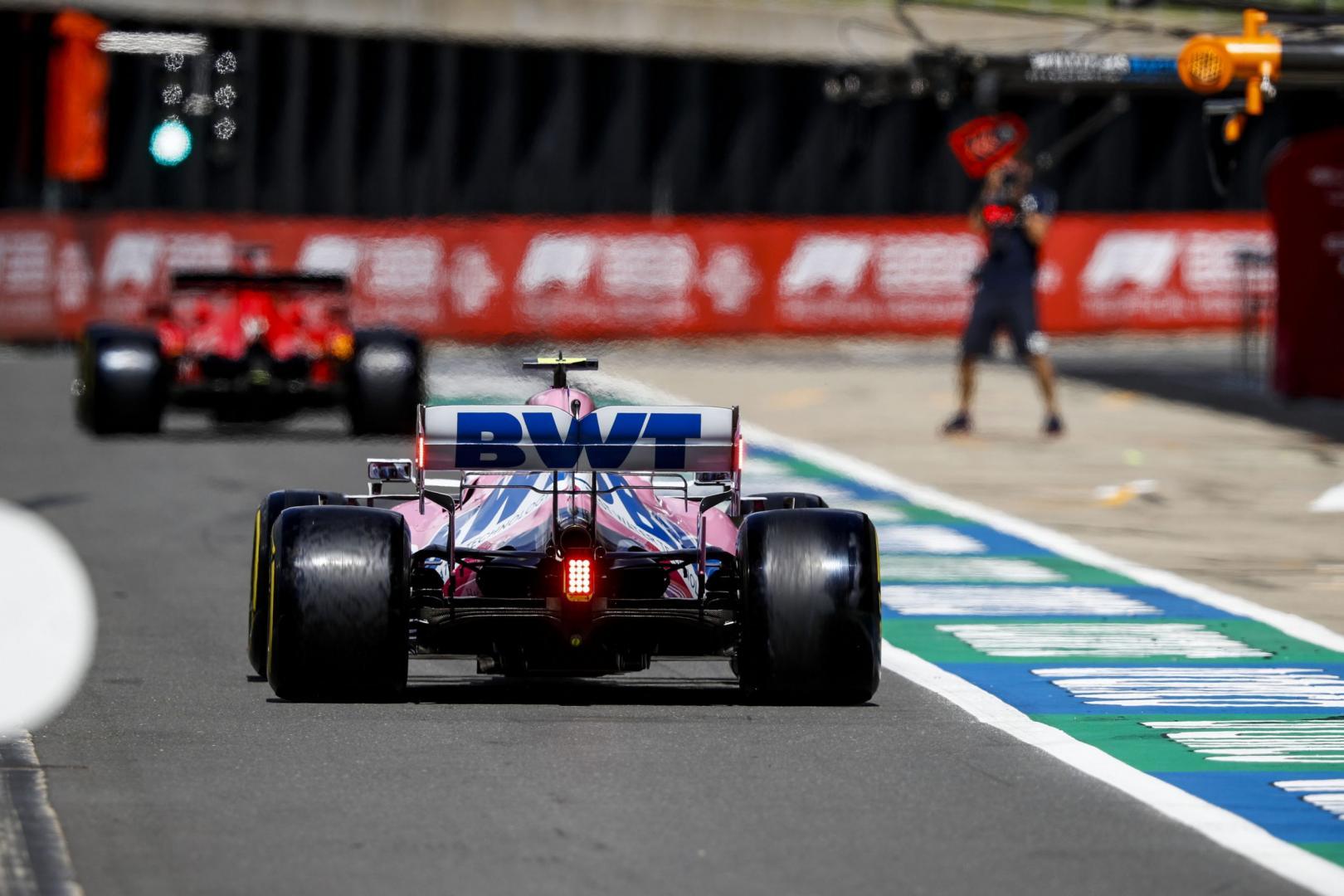 2e vrije training van de 70th Anniversary GP 2020