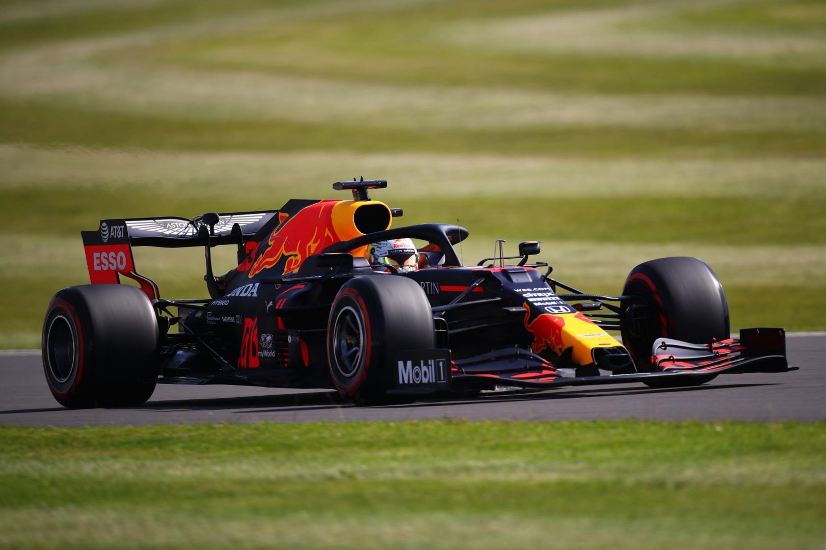 3e vrije training van de GP van Groot-Brittannië 2020
