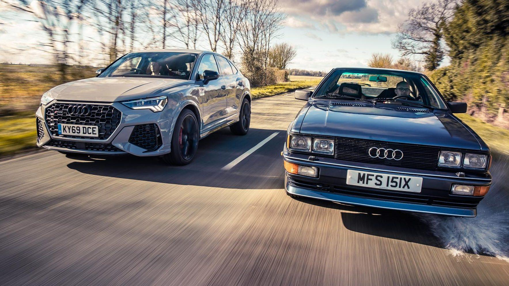 Audi RS Q3 (2020) vs Audi Quattro (1980)