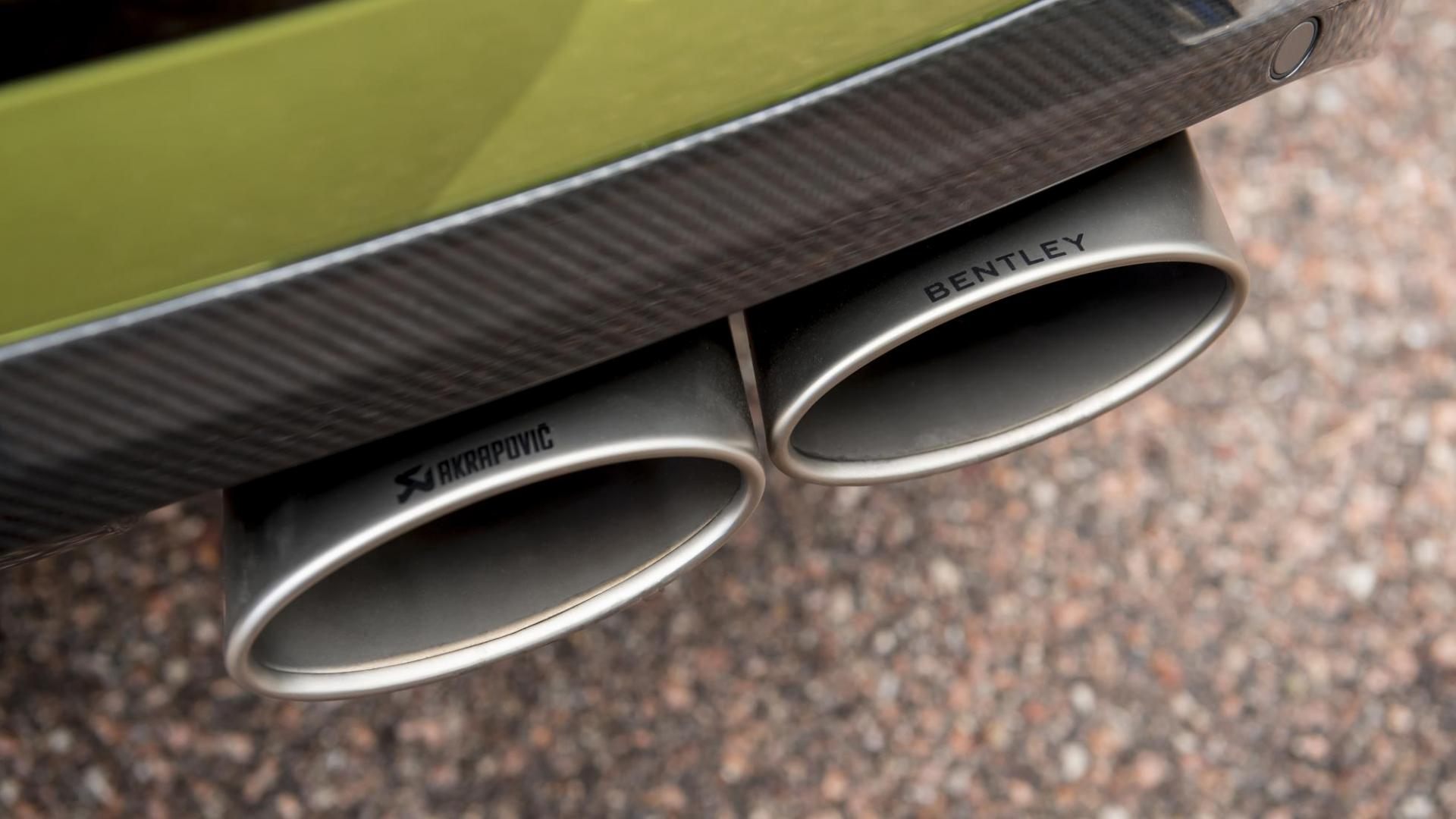 Akrapovic-uitlaat Bentley Bentayga