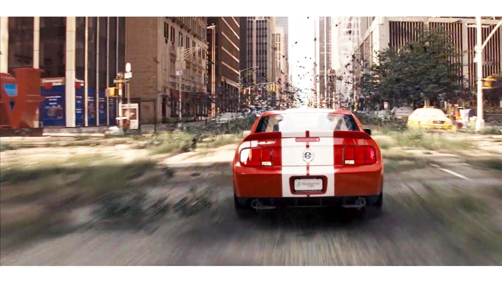 Ford Mustang Shelby GT500 uit I Am Legend