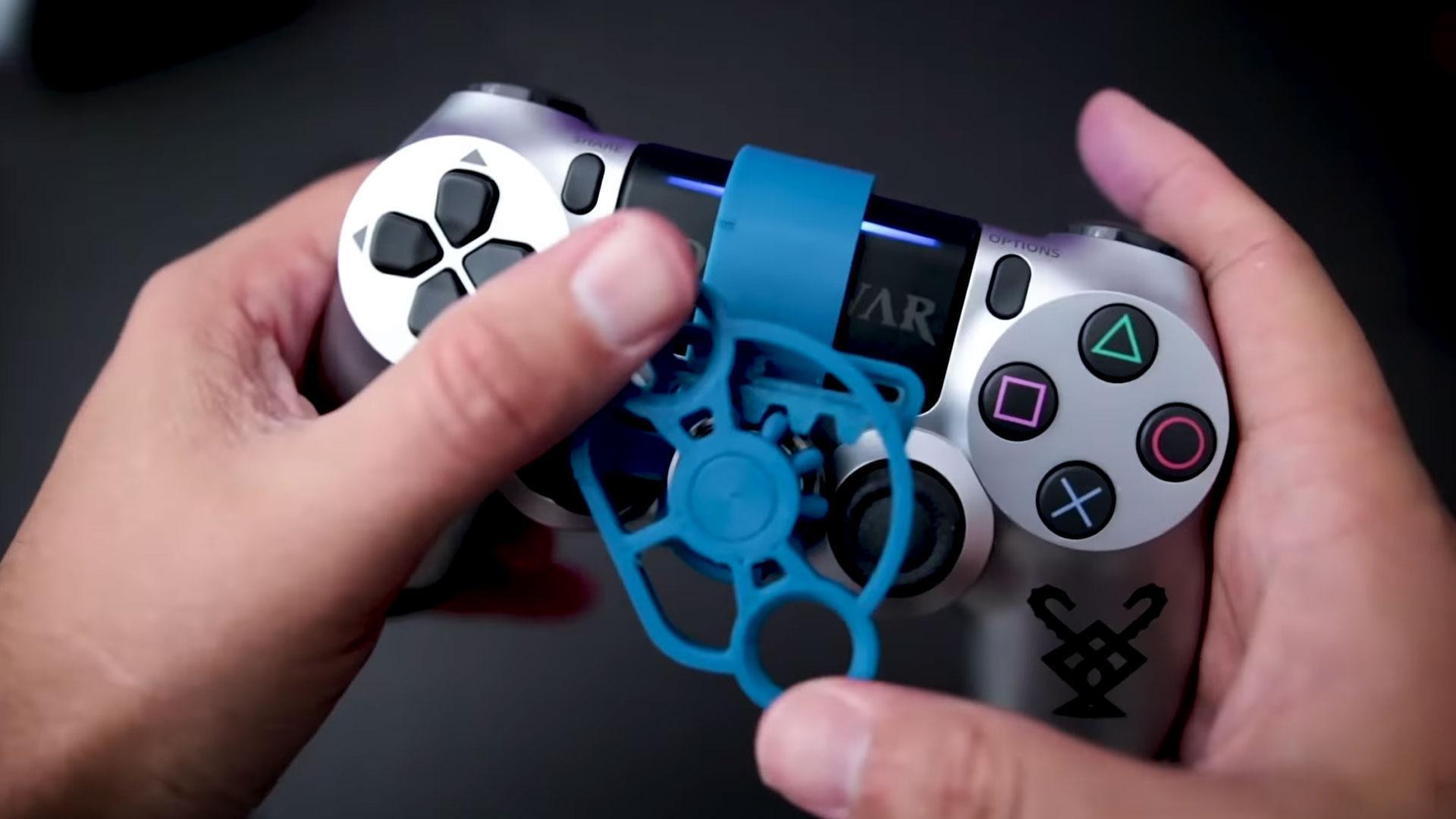 Stuurtje voor óp de PS4-controller