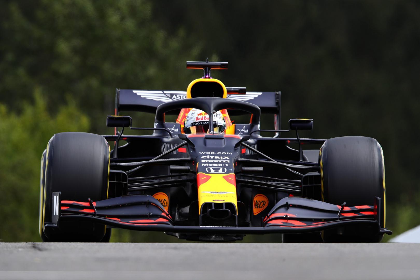 Uitslag van de GP van België 2020