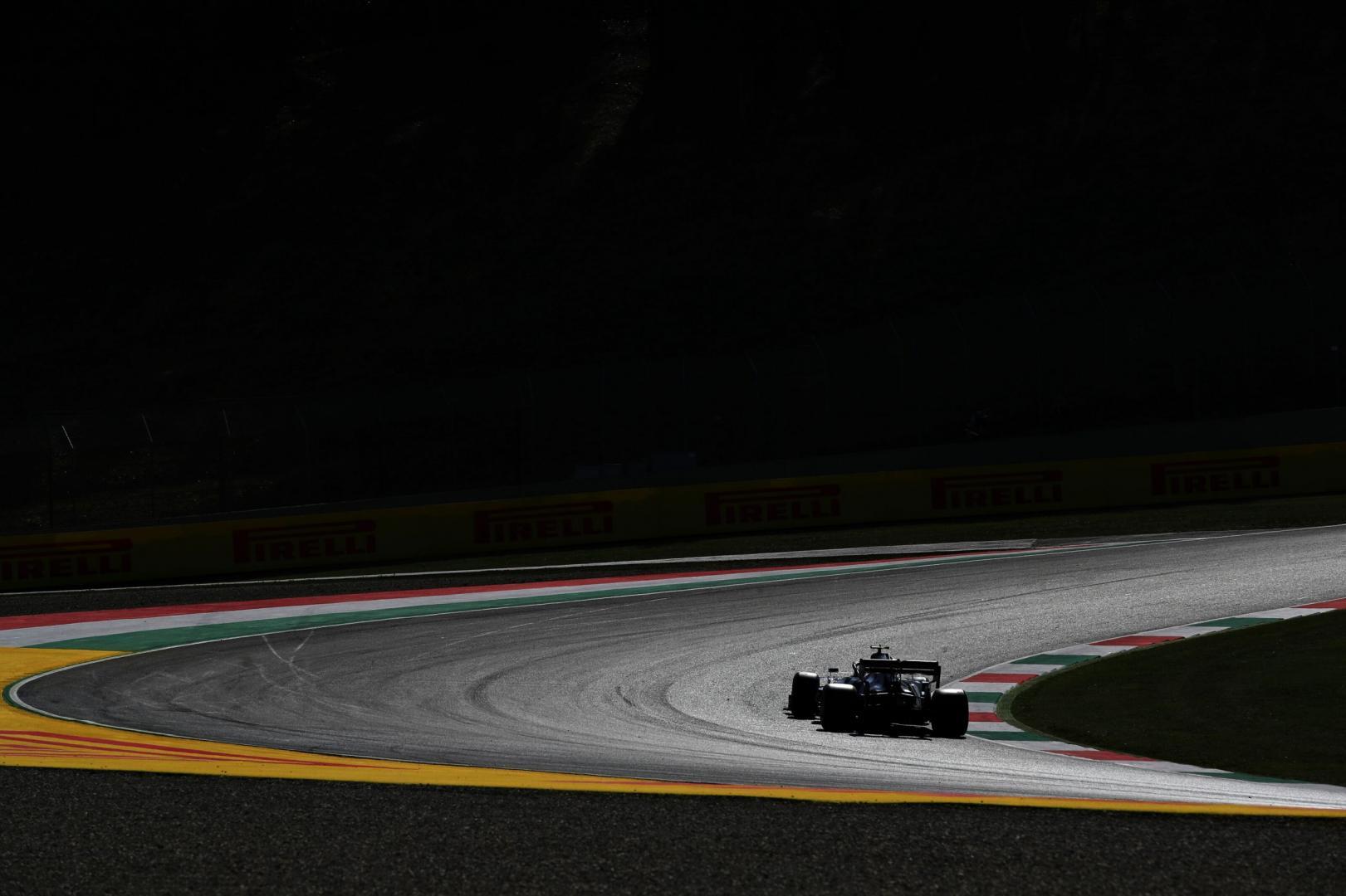3e vrije training van de GP van Toscane 2020