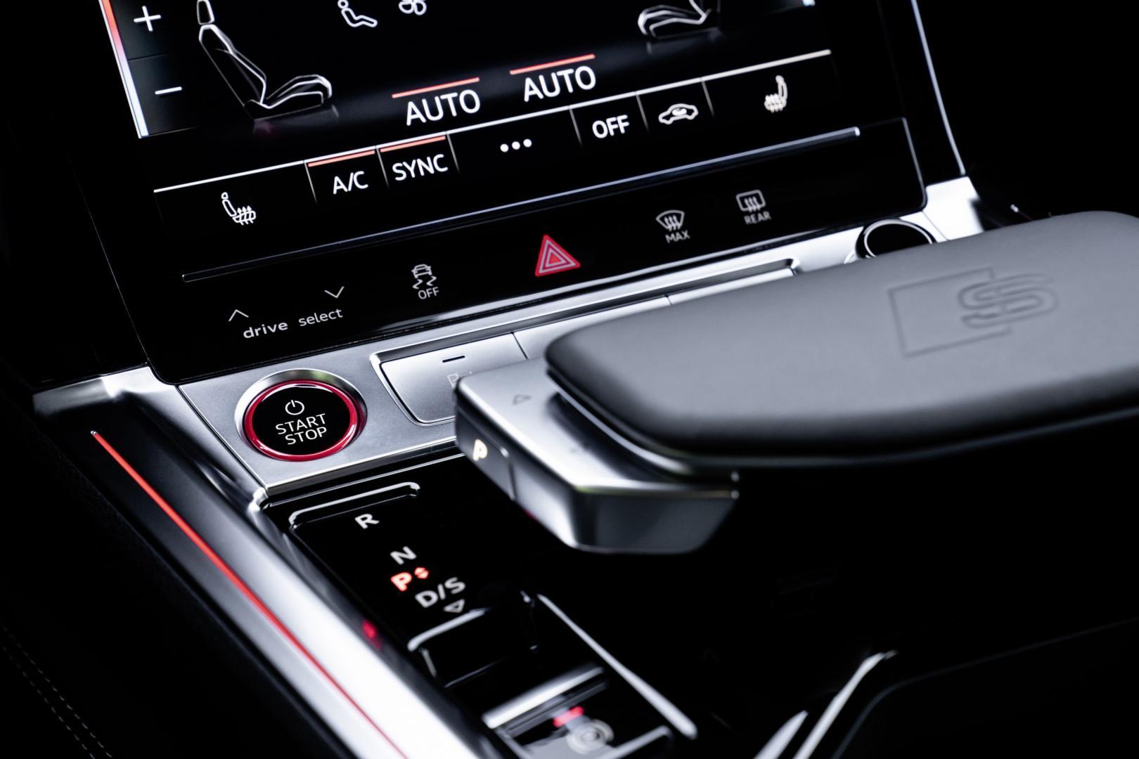 Startknop en pook Audi e-tron S Sportback (2020) (Rood)