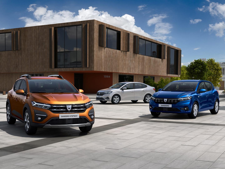 Dacia Sandero Stepway en Logan 2020