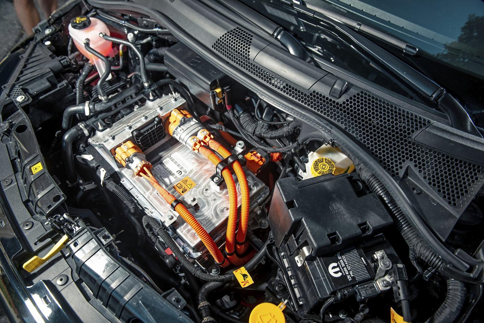 Elektromotor Fiat 500C La Prima