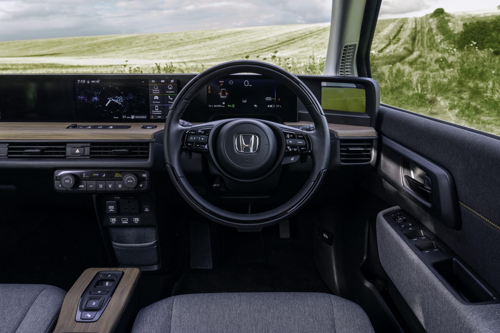 Interieur en stuur Honda E Advance