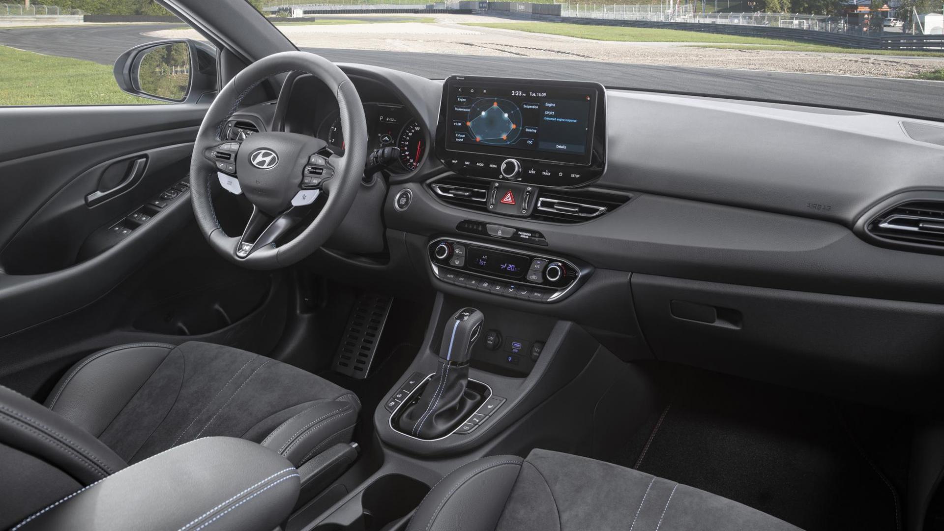 Interieur Hyundai i30N facelift 2020