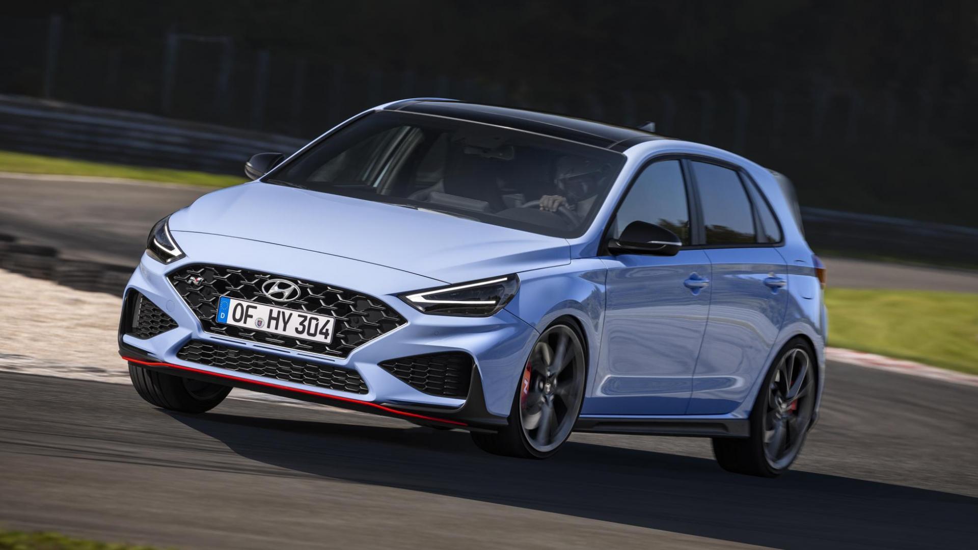 Hyundai i30N facelift