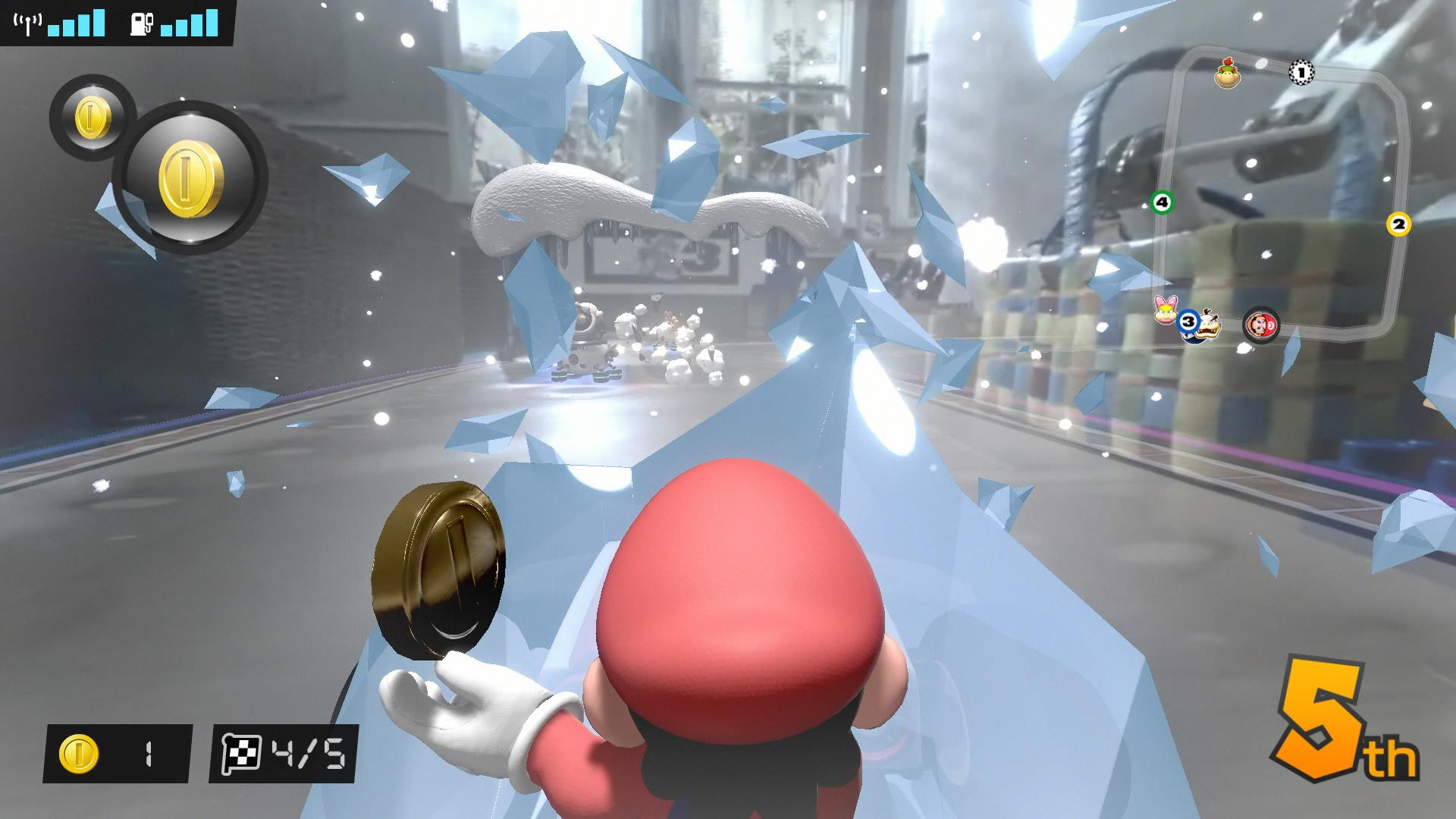 Mario Kart Live Home Circuit Screenshot