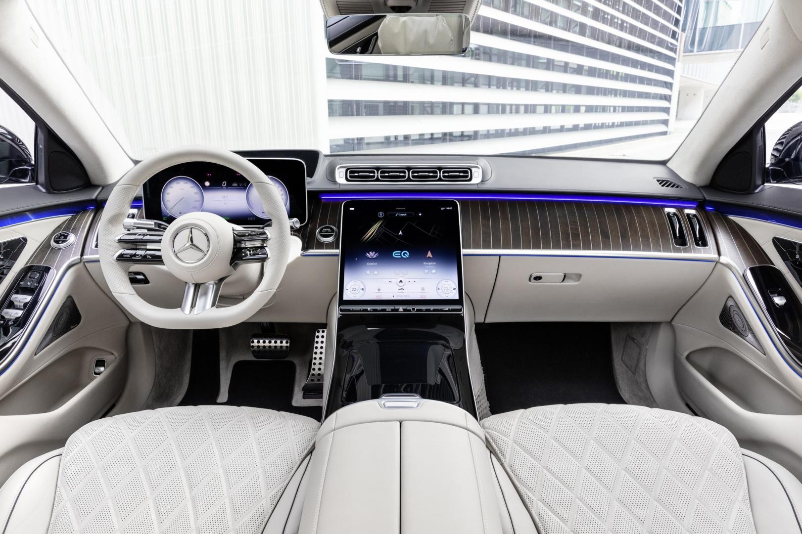 nieuwe Mercedes S-klasse 2020