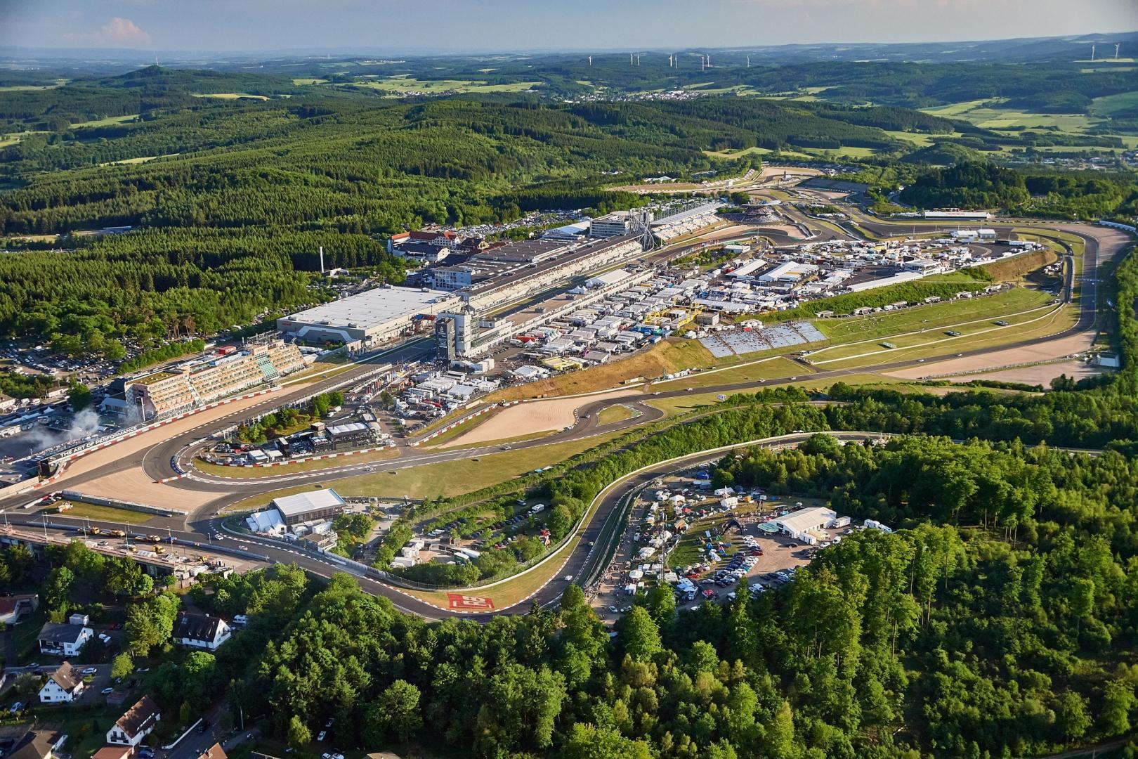 Luchtfoto Nurburgring GP circuit
