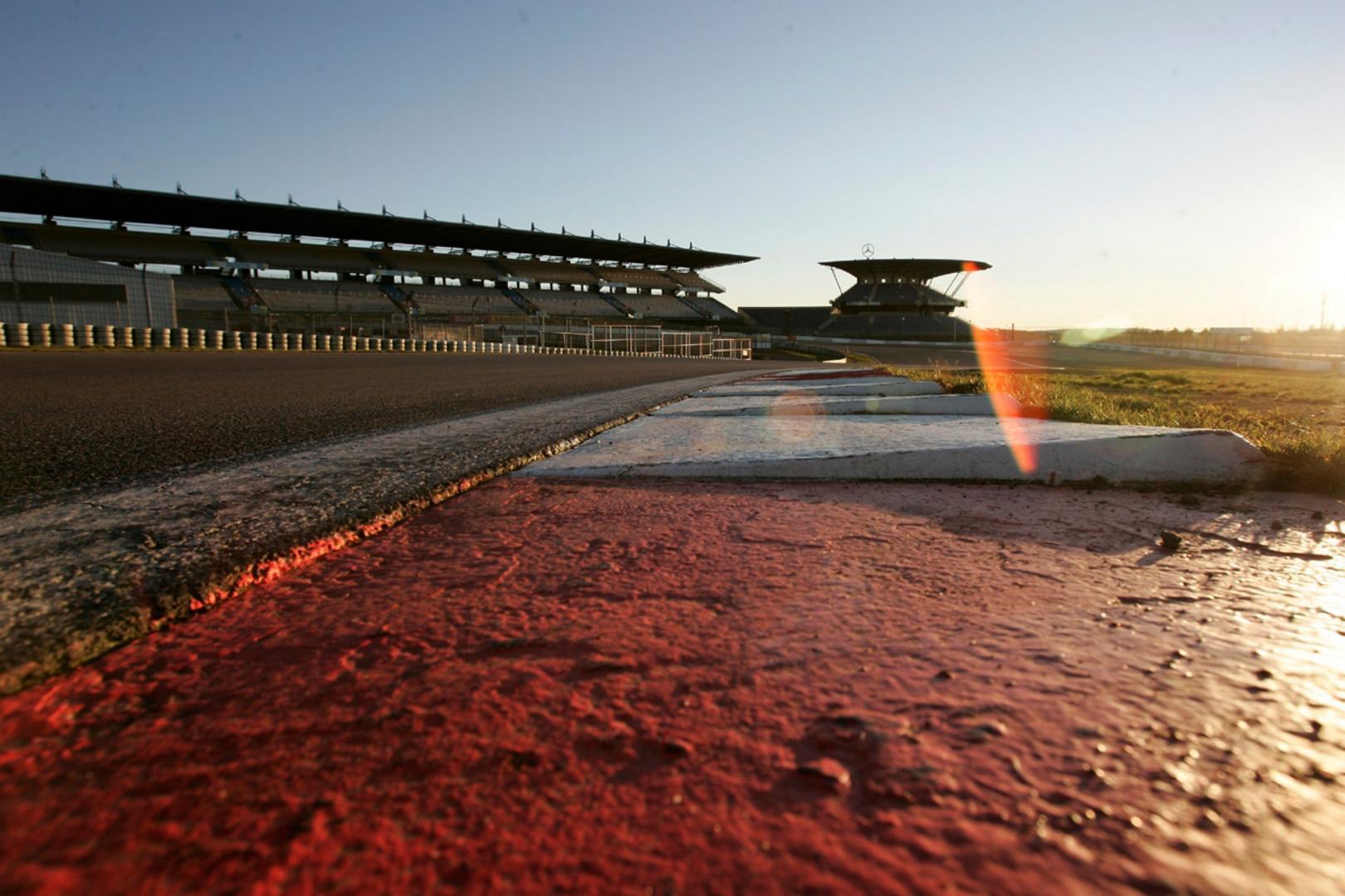 Kerbstenen Nurburgring GP circuit