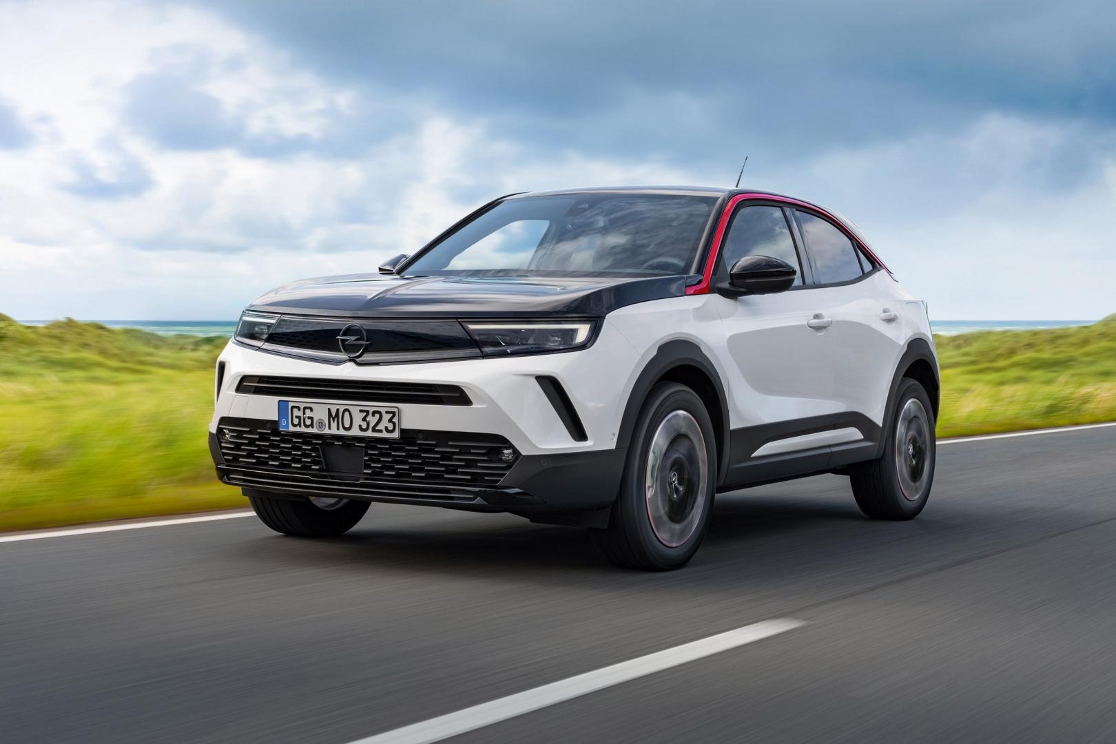 Opel Mokka (benzine, wit)