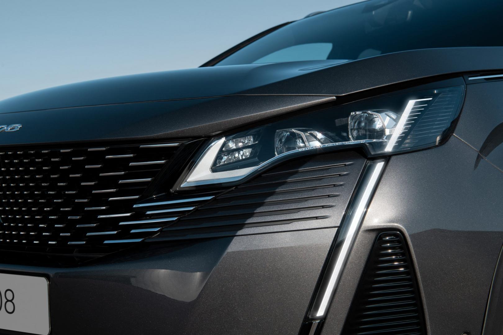 Koplampen Peugeot 3008 facelift 2020