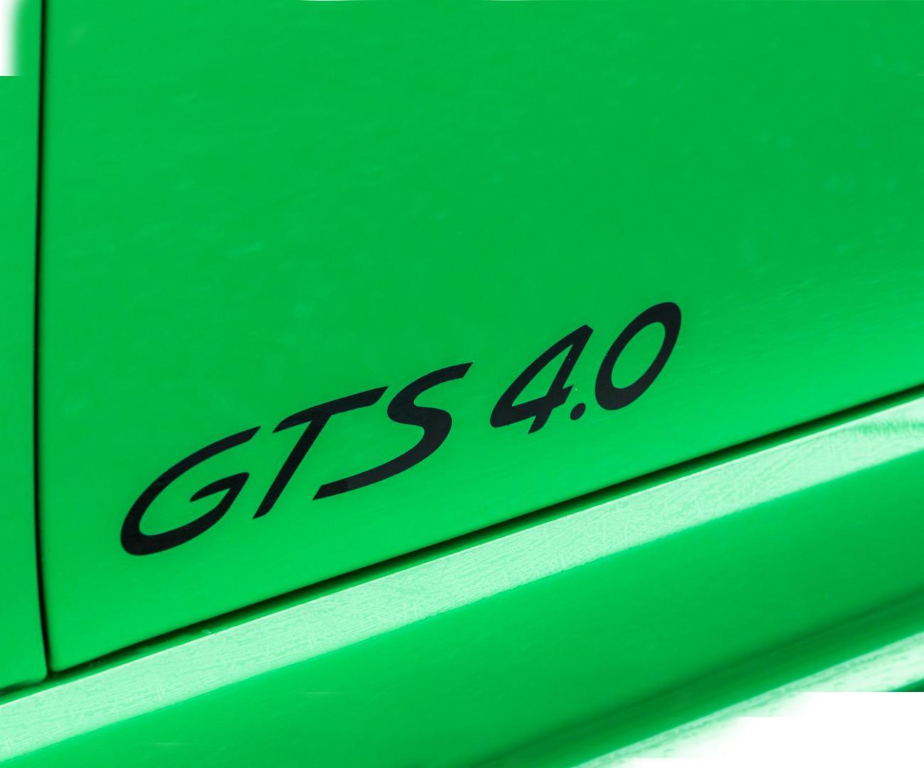 Logo Porsche 718 Boxster GTS 4.0