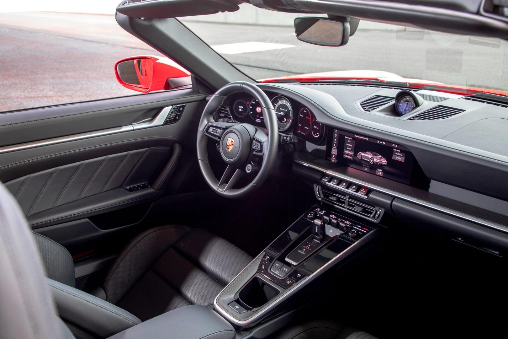 Porsche 911 Turbo S Cabrio 992 (2020)