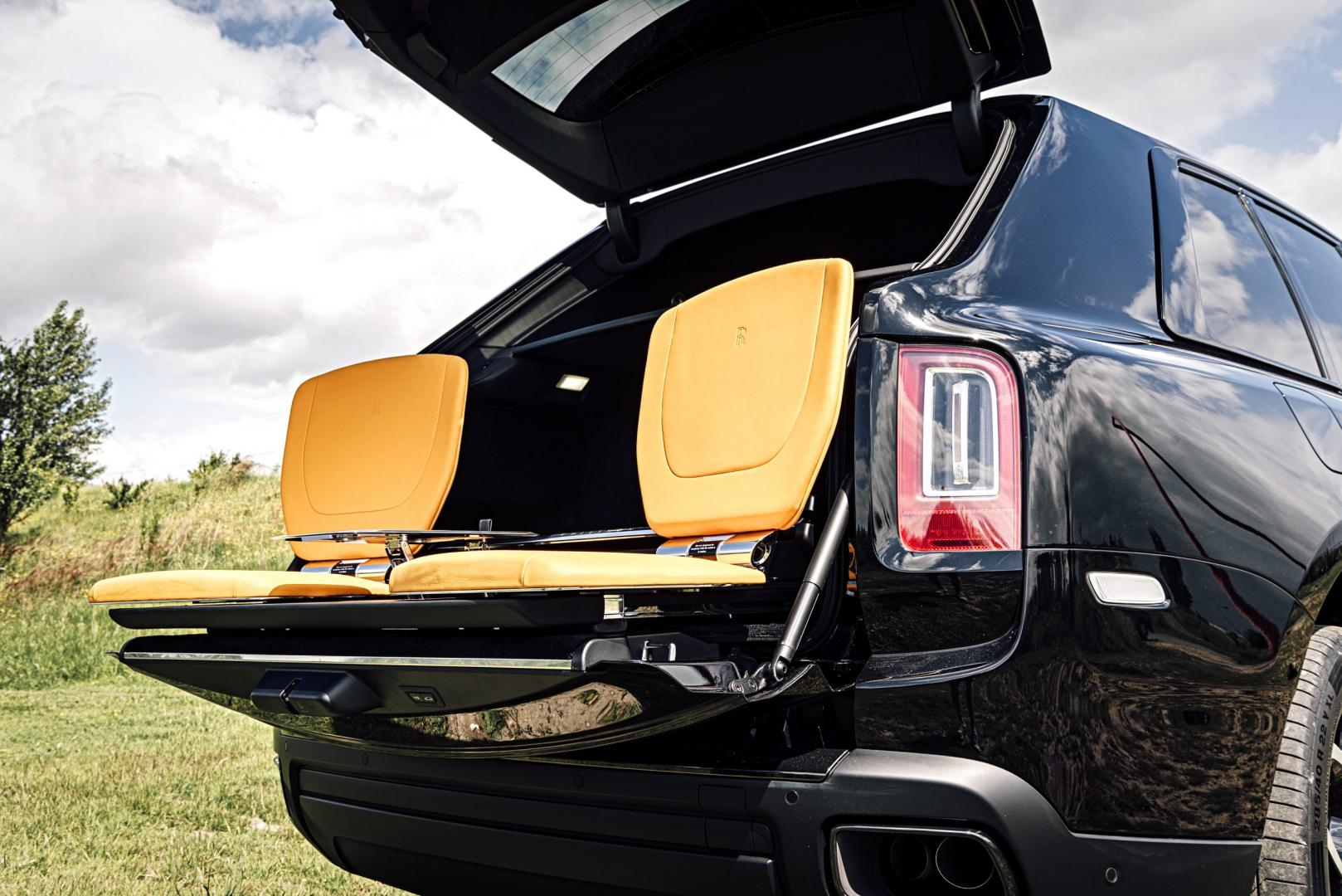 Stoelen Rolls-Royce Black Badge Cullinan