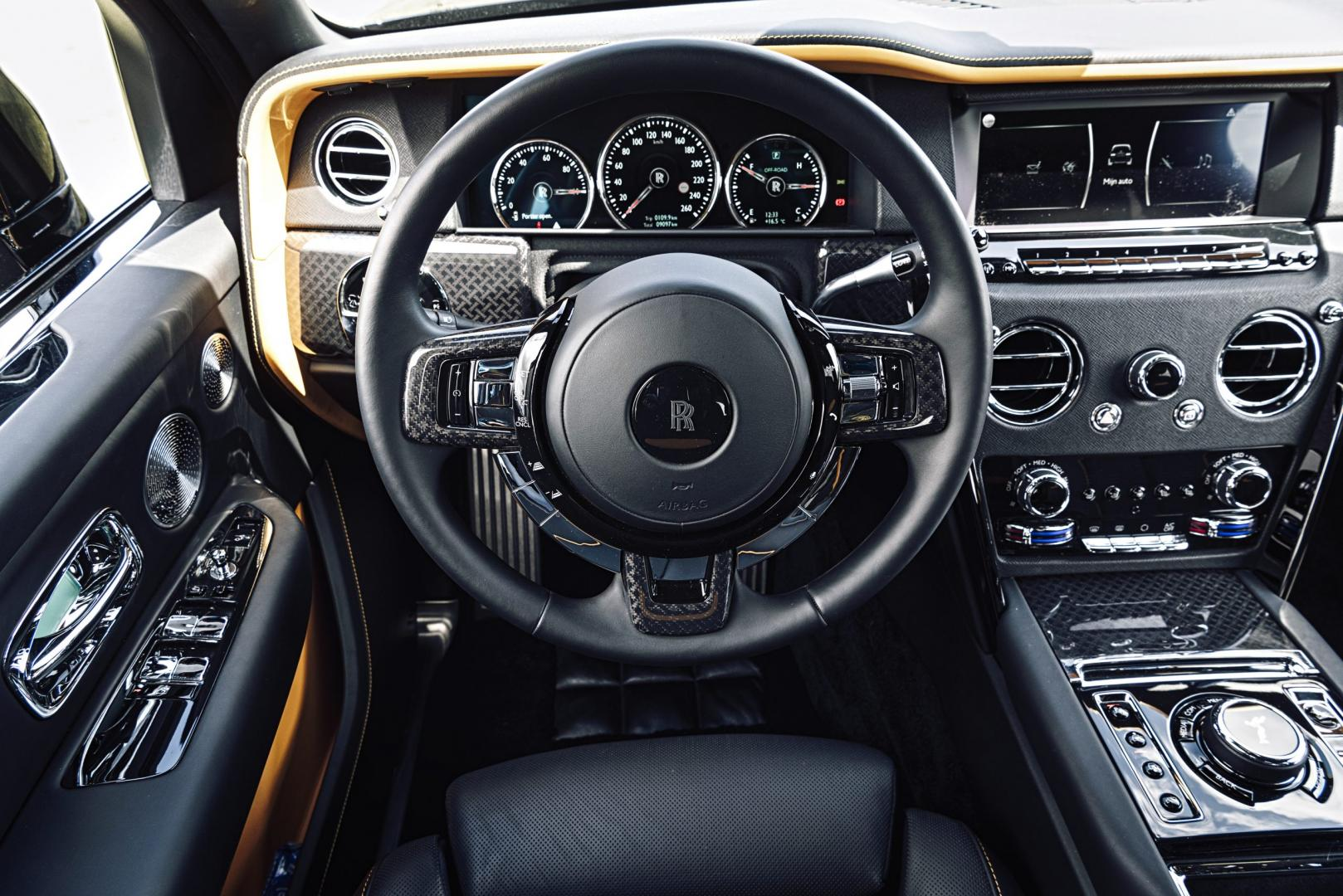 Interieur Rolls-Royce Black Badge Cullinan