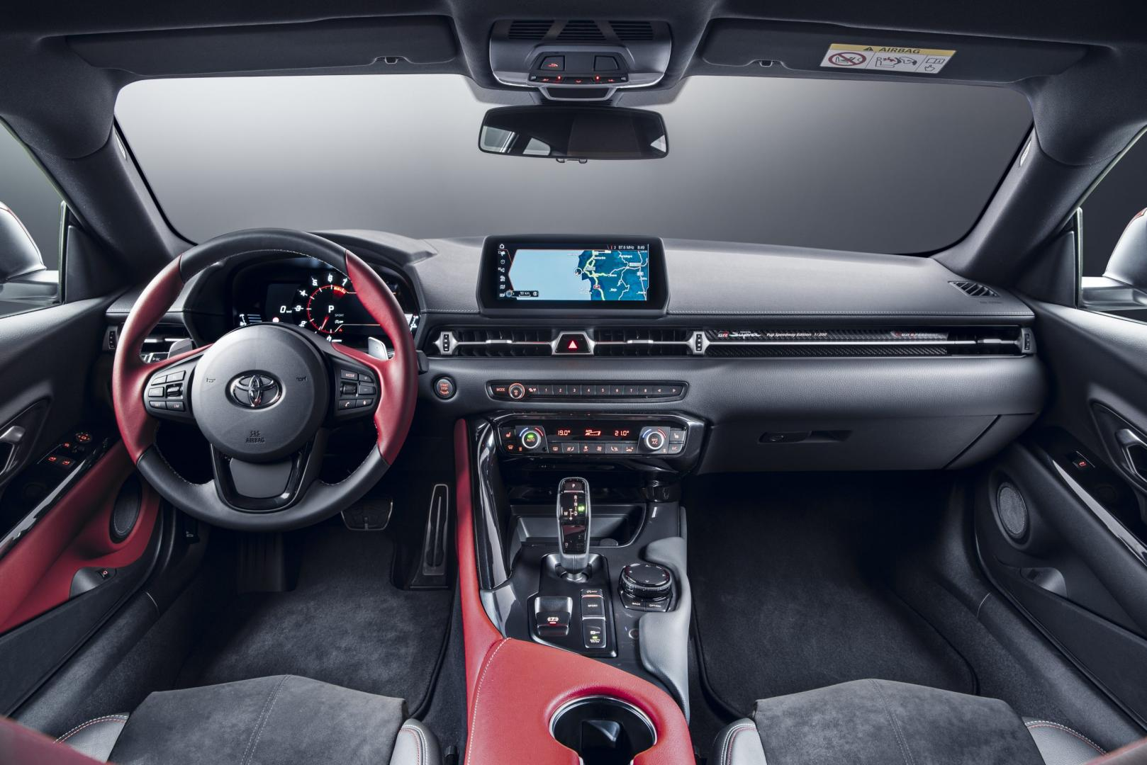 Interieur dashboard Toyota gr Supra 2.0 Launch
