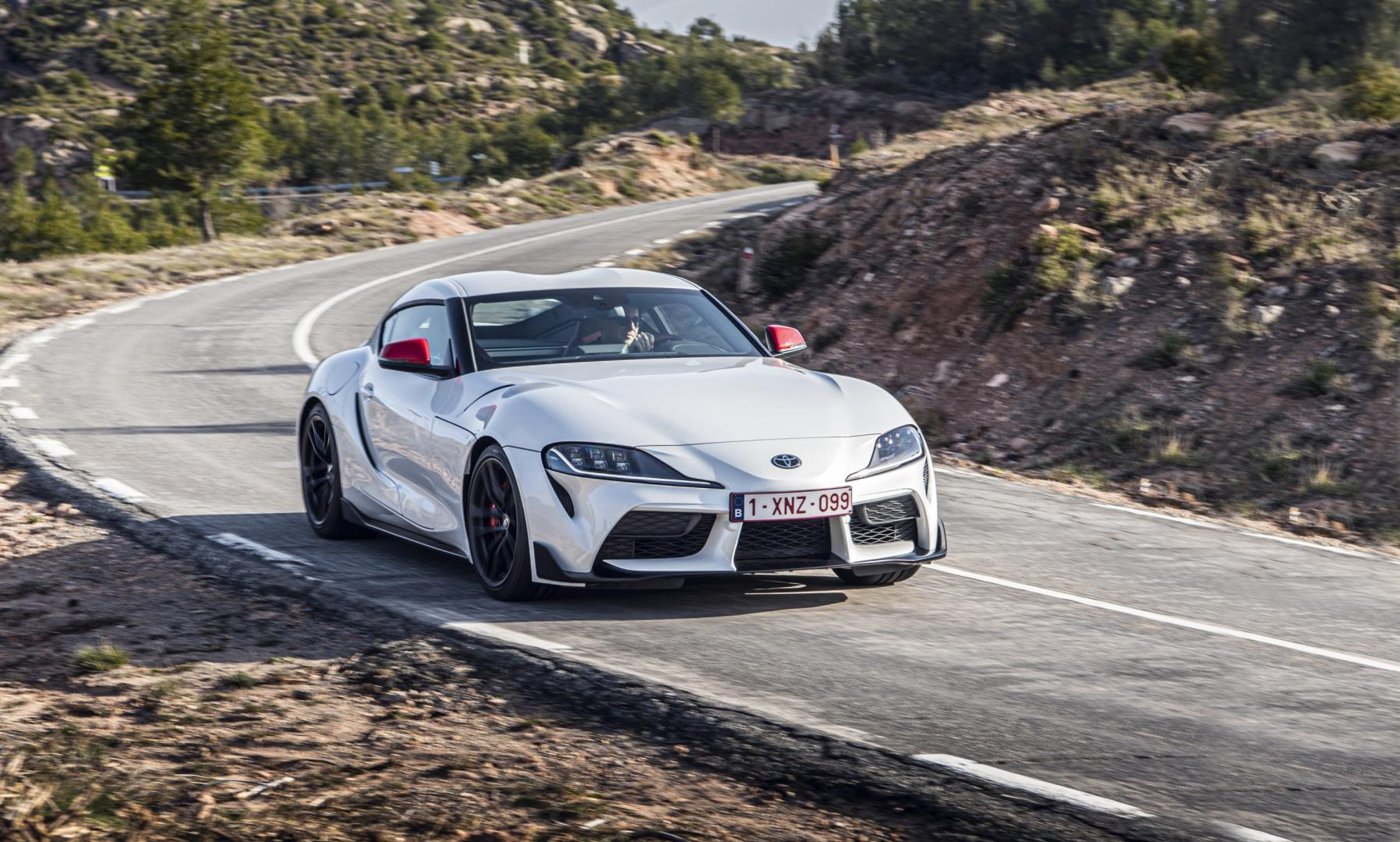 Toyota gr Supra 2.0 Launch