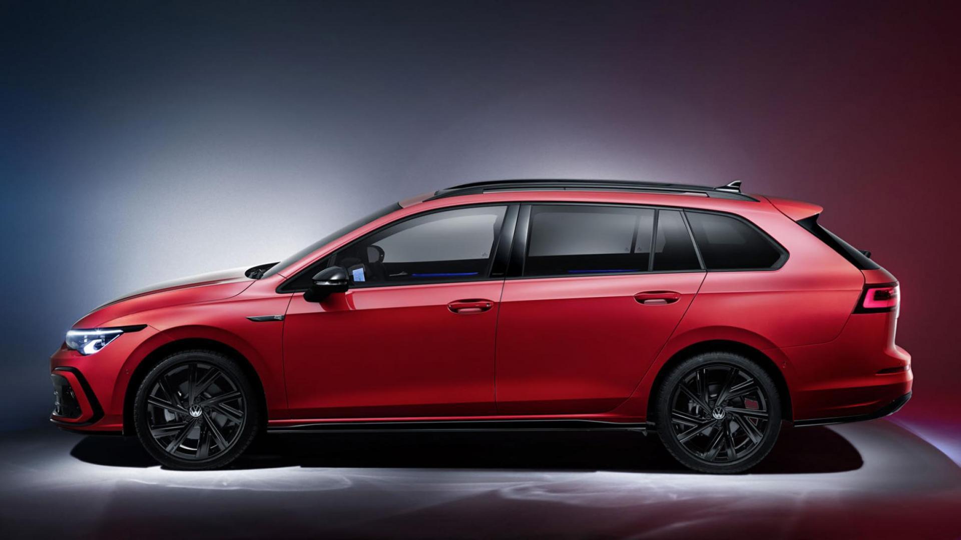 Volkswagen Golf Variant 2020 zijaanzicht