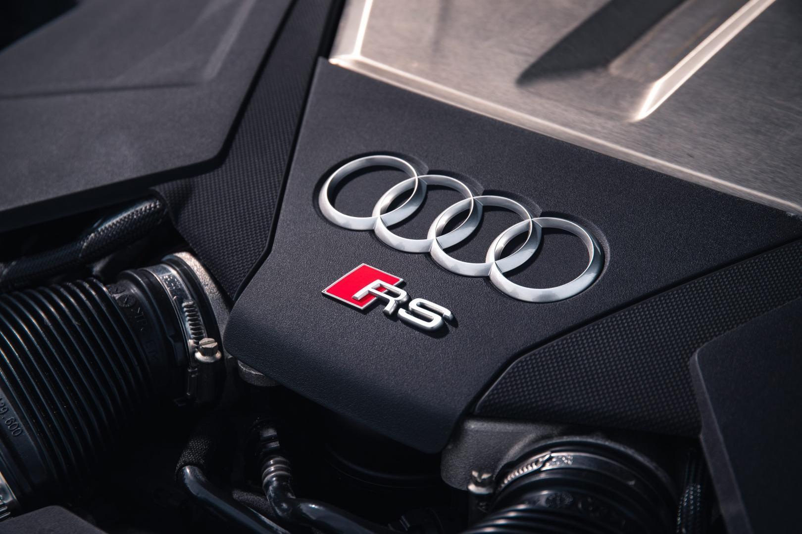 Audi RS 6 V8-motor