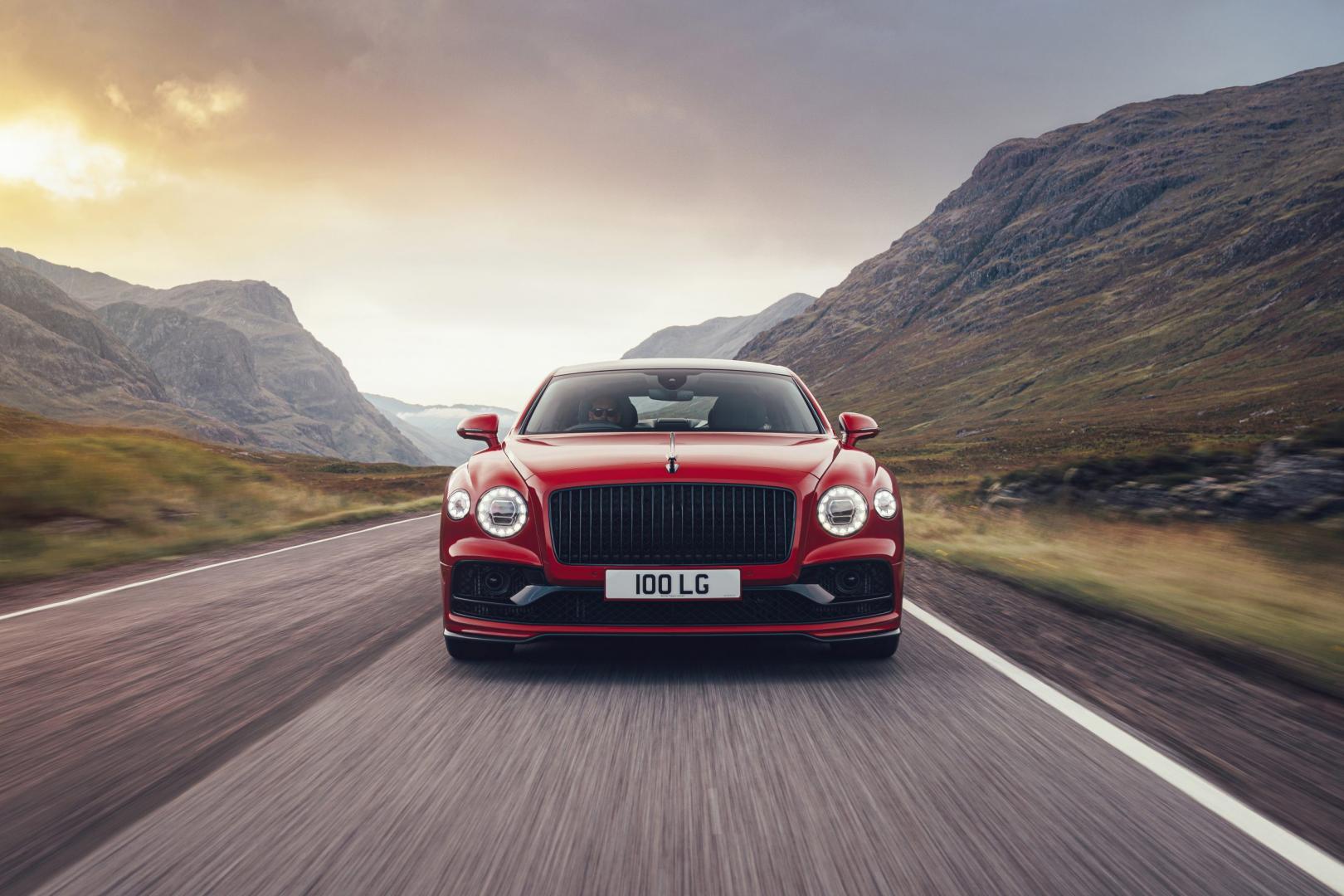 Voorkant Bentley Flying Spur 2020
