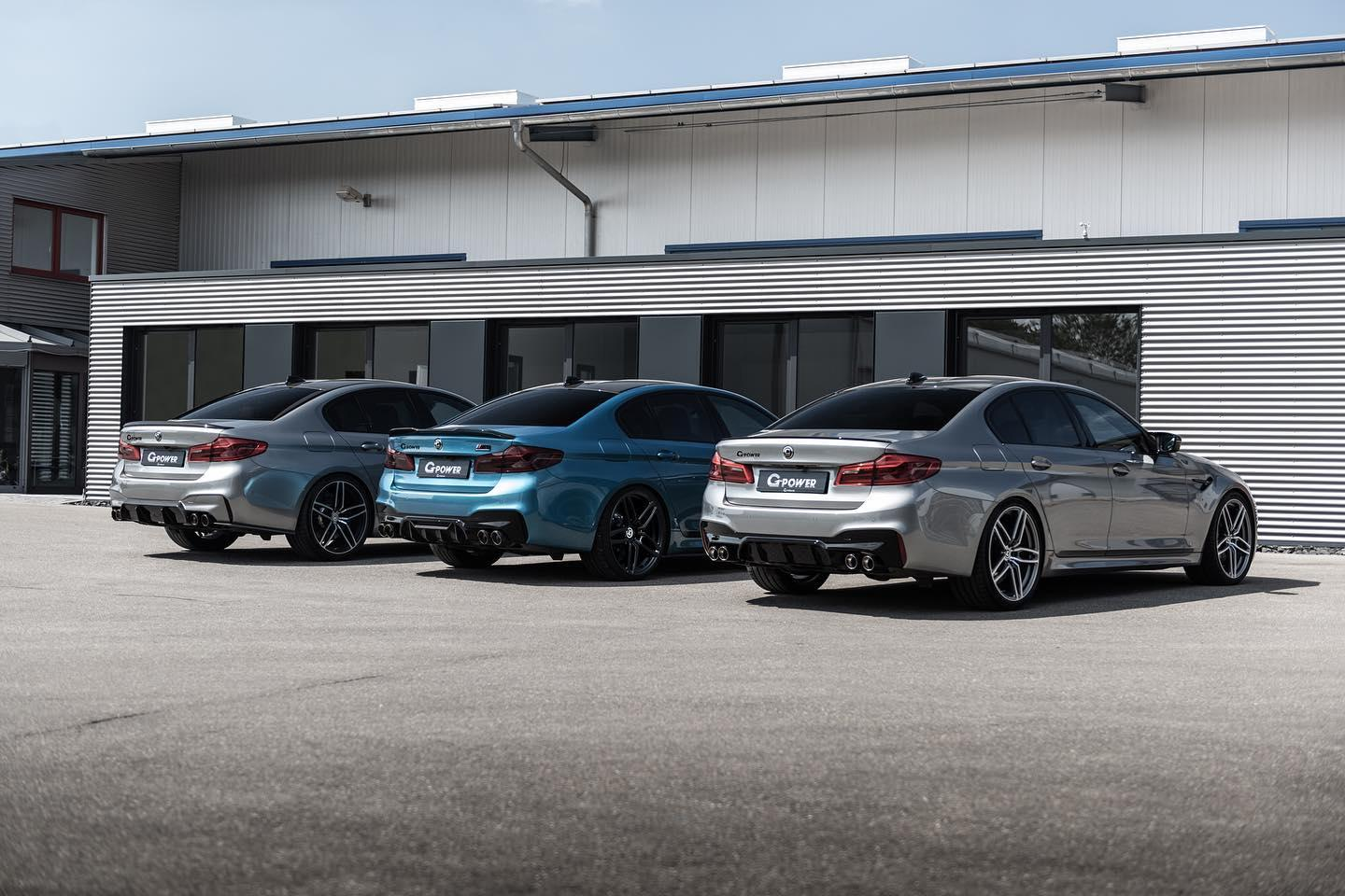 G-Power G5M Hurricane RR is een BMW M5 met 900 pk